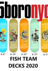 5 BORO NYC 5Boro 2020  Fish Series Team Decks
