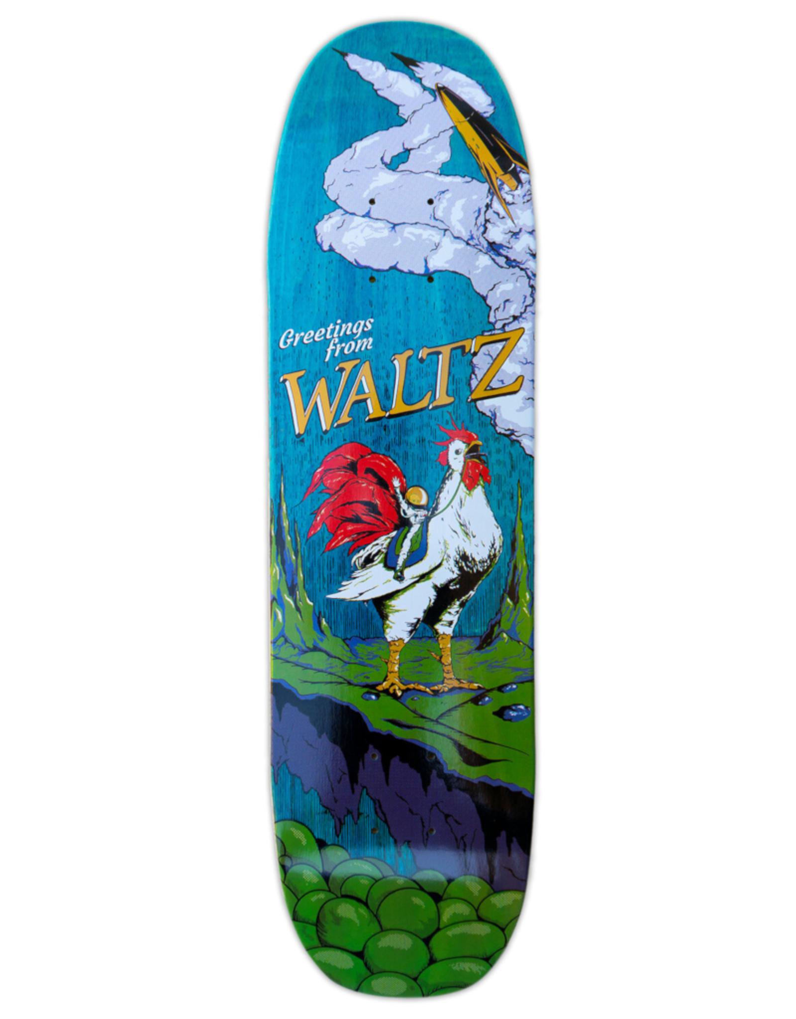 "WALTZ SKATEBOARDING Waltz - The Destination - Free Style Deck 76"" & 8.0"""