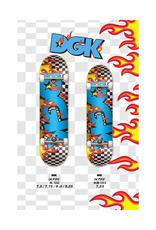 "DGK DGK - On Fire - COMPLETE SKATEBOARDS - 7.25"" & 8.0"""
