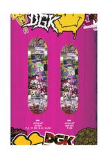 "DGK DGK - Stick Up - COMPLETE SKATEBOARD - 8.0"""