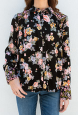 Free People Hold On To Me Printed Shirt