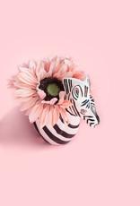 Adelante Large Zebra Planter