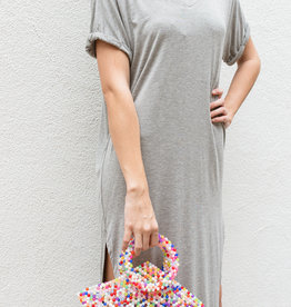 Adelante Heather Grey Dress