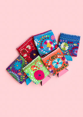 Adelante Floral Embroidered Koozie