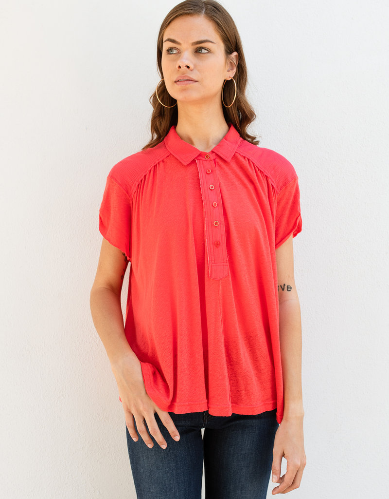Free People Low Down Henley