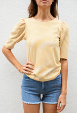 Adelante Striped Puff Tee