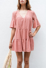 Adelante Wood Rose Dress