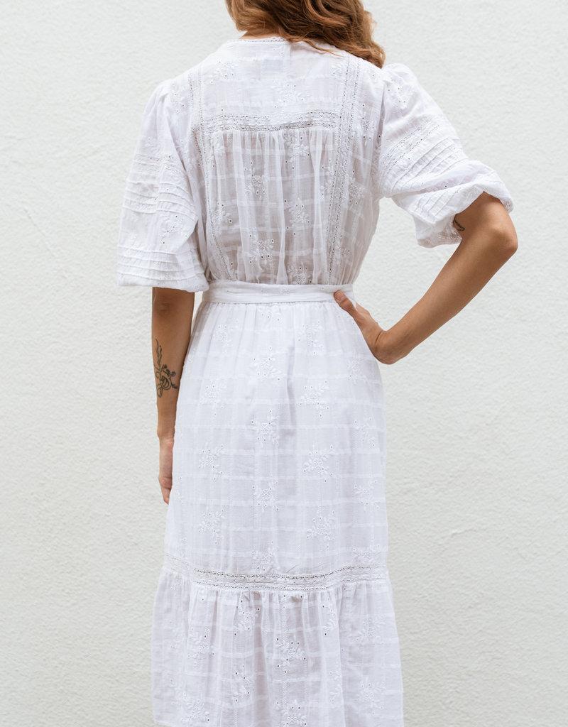 Adelante Peninsula Helrloom Midi dress