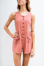 Adelante Button Up Romper