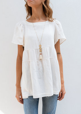 Adelante Fun White Top