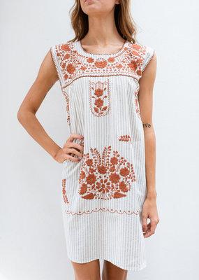 Adelante Stripe Dress