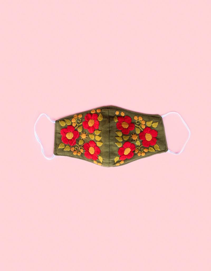 Adelante Embroidered Masks