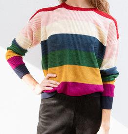 Adelante Striped Sweater