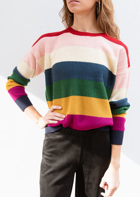 Adelante Striped Sweater