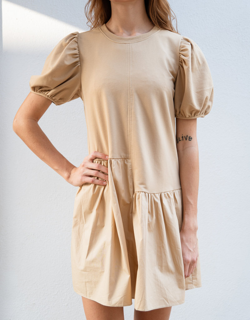 Adelante Puff Sleeve Dress