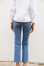 Adelante High Rise Straight Denim Jeans