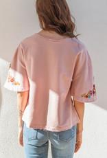 Adelante Carmen Flutter Sleeve Top