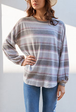Adelante Brushed Striped Sweater