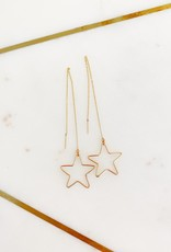 Adelante Star Chain Earrings