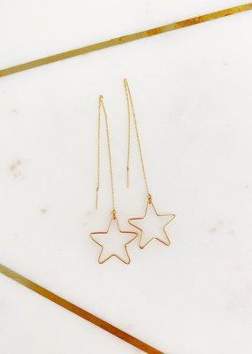 Adelante Star Chain Earrings