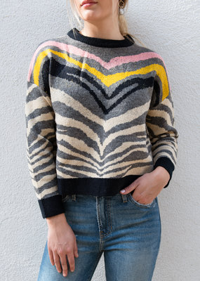 Adelante Zebra Sweater