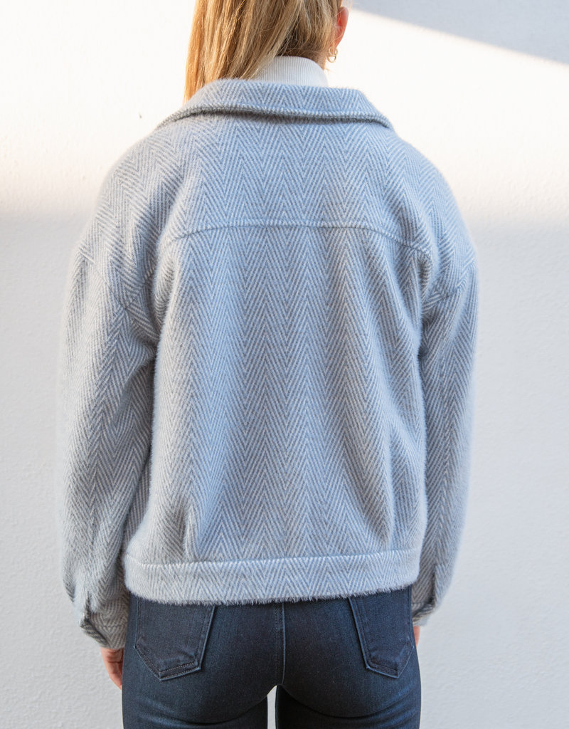 Adelante Herringbone Patterned Jacket