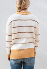 Adelante Threaded Stripe Sweater