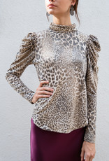 Adelante Leopard Print Top