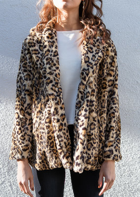 Adelante Leopard Coat