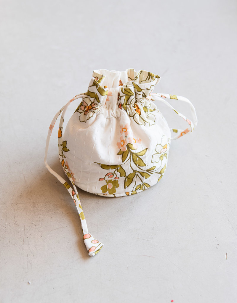 Adelante Cotton Drawstring Purse