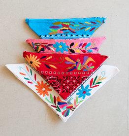 Adelante Embroidered Otomi Bandanas