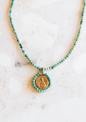 Adelante Sacred Heart Necklace