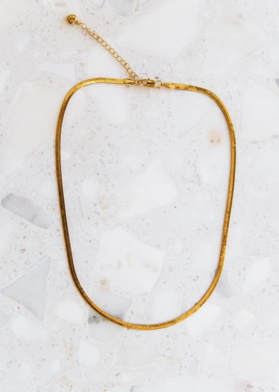Adelante Snake Necklace