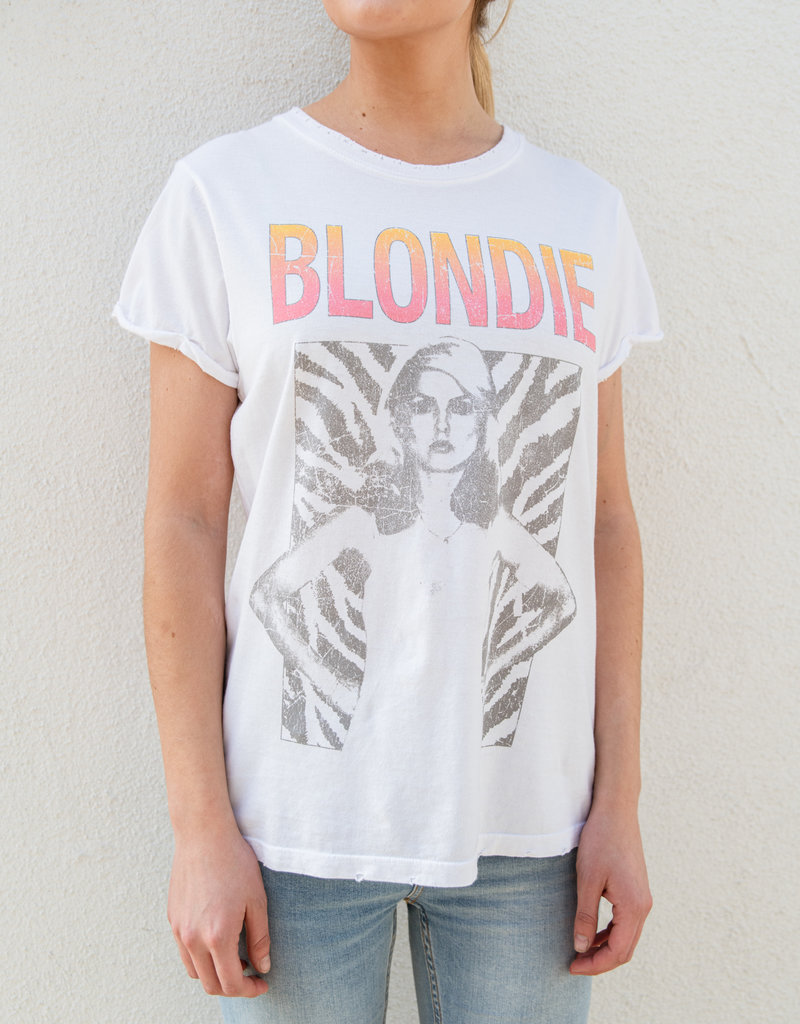 Adelante Blondie Live From NY Tee