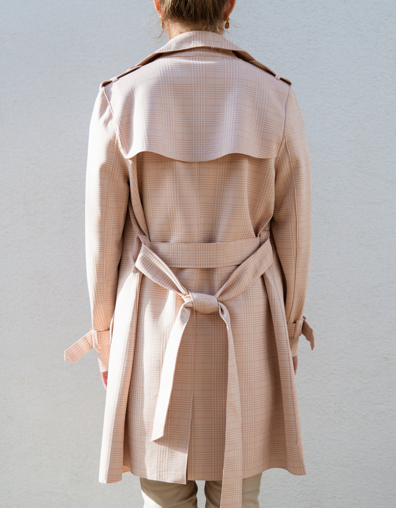 Adelante William Long Trench Coat
