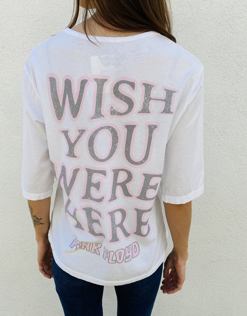 Adelante Pink Floyd Wish You Were Here Tee Recycled Karma