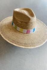 Adelante Aura Striped Sun Hat
