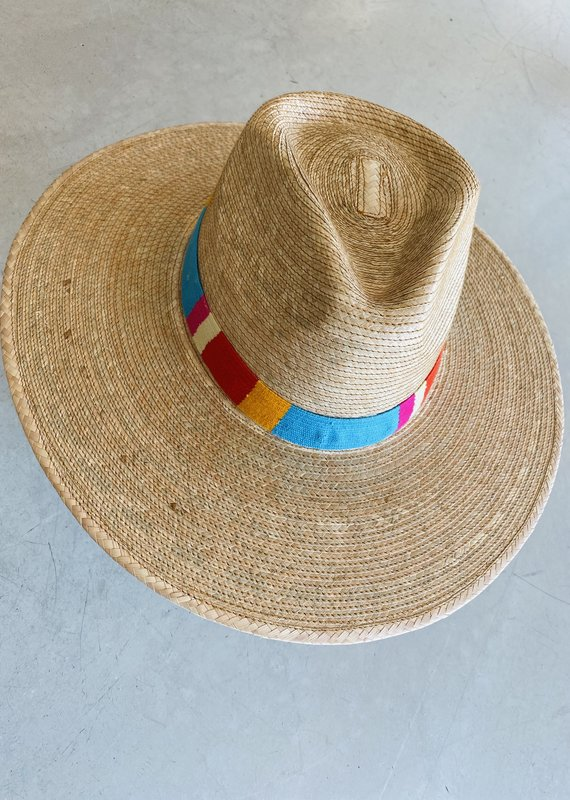 Adelante Sandra Striped Sun Hat