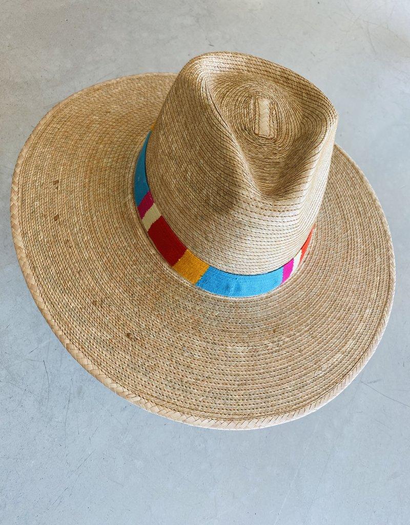 Adelante Sandra Striped Sun Hat
