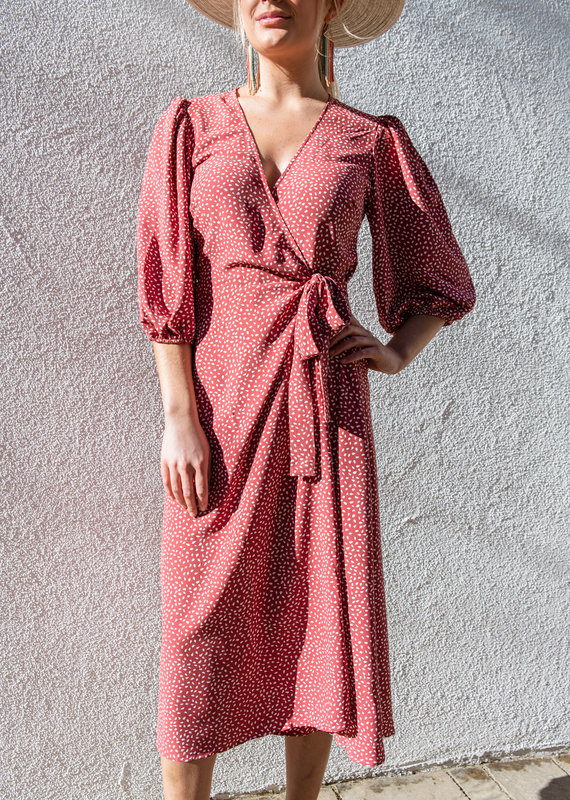 Adelante Ilana Wrap Dress