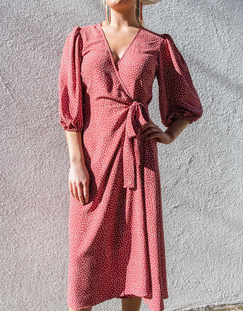Adelante Ilana Wrap Dress