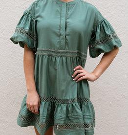 Adelante Jade Dress