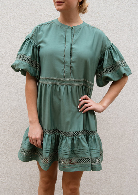 Adelante Jade Dress