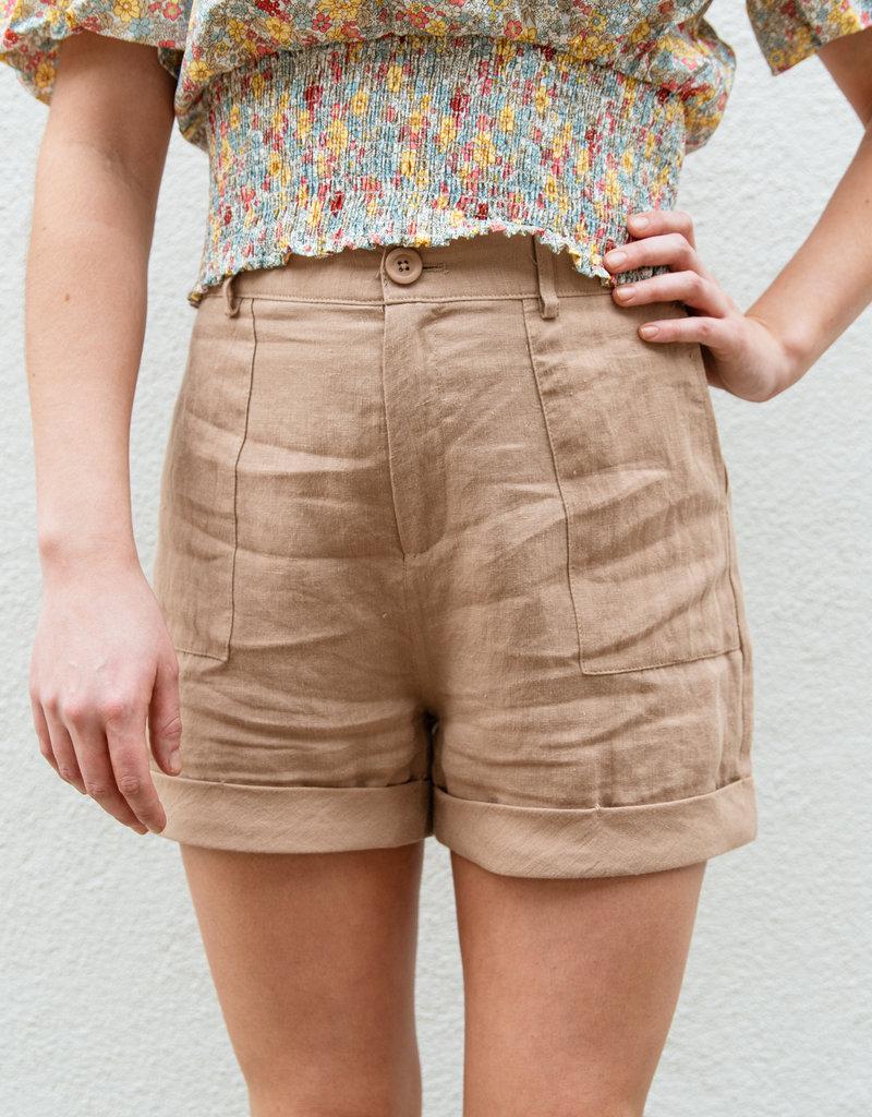 Adelante Taupe Shorts