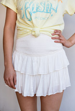 Adelante Smocking Skirt