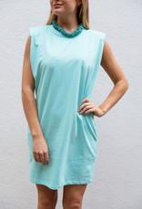 Adelante Aqua Knit Dress