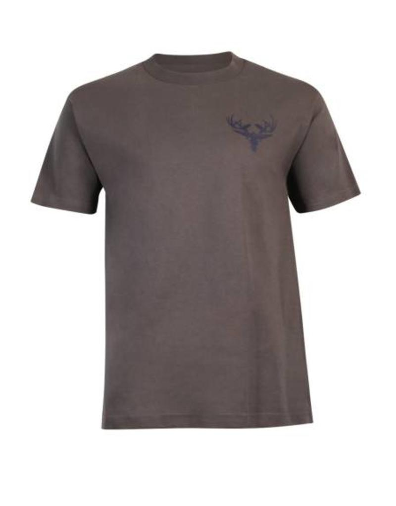 Grey & Navy Cotton T