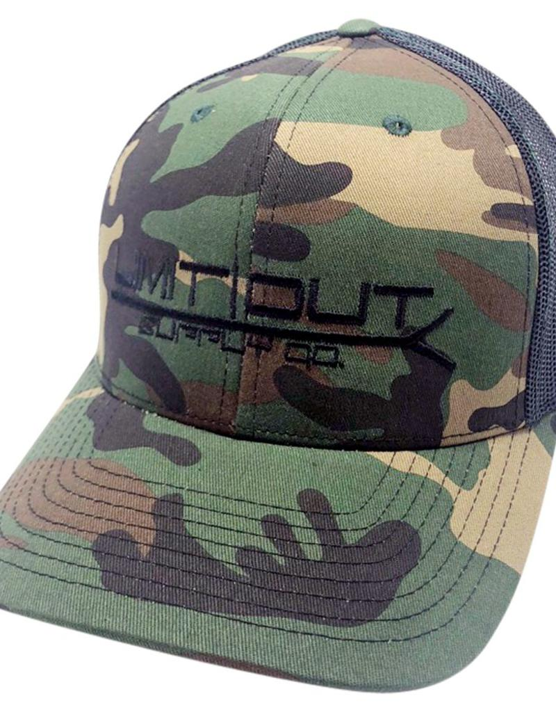 42c7bb00 Copy of Snapbacks Old School Camo/ Black Mesh - Limit Out Supply Co.