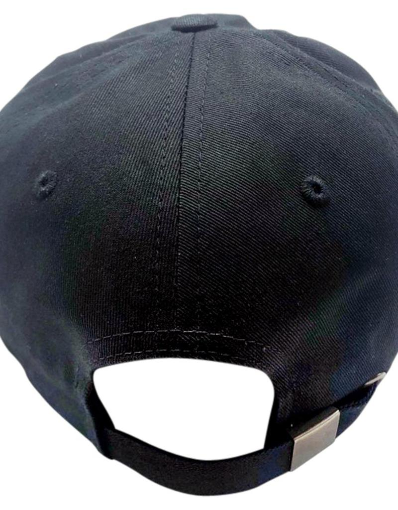 Richardson Cotton Buckle Hat- Black