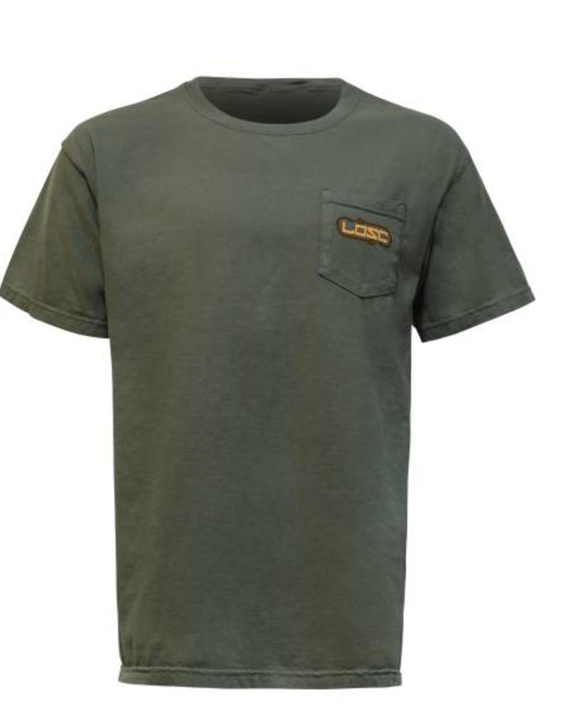 Limit Out Supply Co. Hook' D Bass T- Comfort Colors